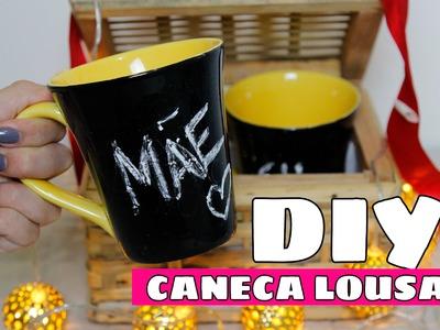 Desafio Méliuz DIY - CANECA LOUSA | Por Jessica Melo