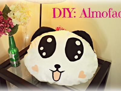 DIY: Almofada de Panda por Elisa Bighetti