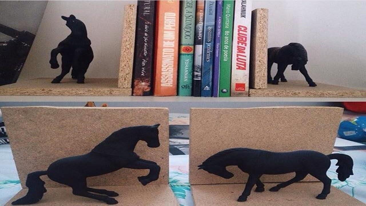 DIY: Aparador de Livros Decorativo