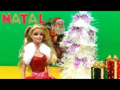 DIY:. Árvore de Natal para Boneca Barbie - Show Fun Toys