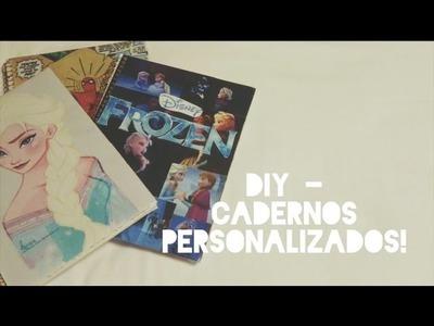 DIY - caderno personalizado | marias reborn
