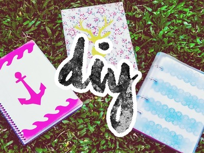 DIY: Cadernos Personalizados | SCHOOL SUPPLIES