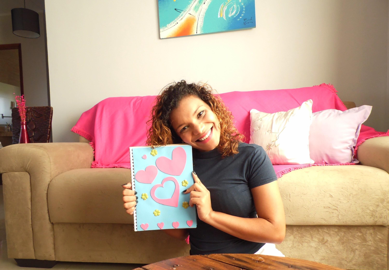 DIY - Capa de caderno com EVA