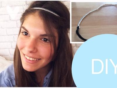 DIY - Cinta para el pelo elástica!