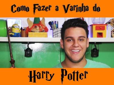DIY Como Fazer a Varinha do Harry Potter