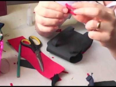 Diy: Como fazer mochila do Mickey em EVA
