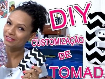 DIY - Customizção de Tomadas