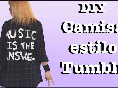 DIY | Customize sua camisa xadrez (Estilo Tumblr)