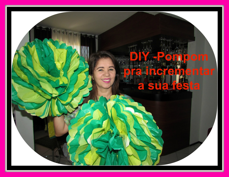 DIY - Decoração com Papel de Seda.