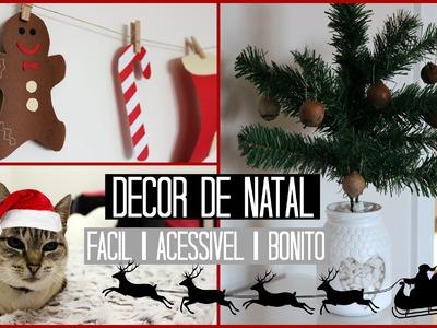 DIY Decoração para o Natal ♡ Fácil&Acessível&Bonito