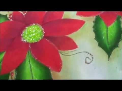 Diy - Dica: Como eu faço pintura com GLITTER em tecido  - Faça você mesma(o) - Graça Tristão