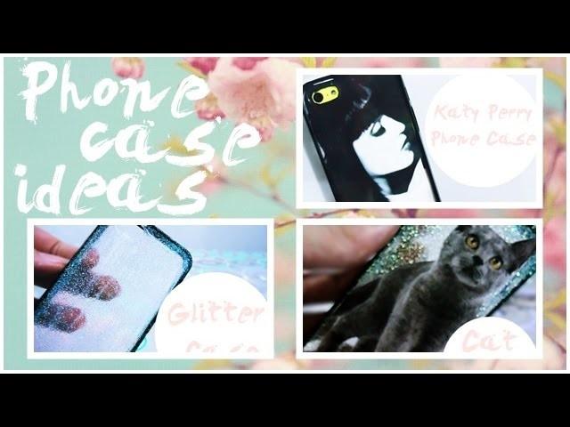 DIY: Easy Phone Case Ideas. Ideias fáceis de capinhas para celular