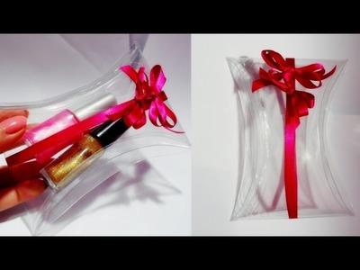 DIY: Embalagem para presente dia das Mães, Caixinha para lembrancinha de garrafa pet.