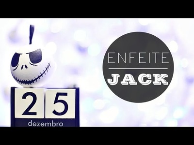 ✂ DIY: Enfeite de Natal do Jack ♡ |03|
