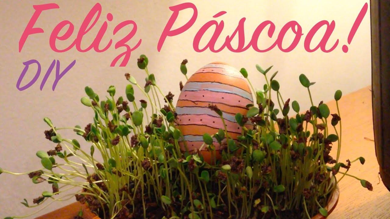 DIY - Enfeites com ovo para Páscoa