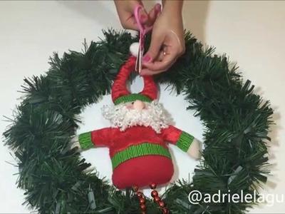 Diy Faça você mesma:Guirlanda de Natal!