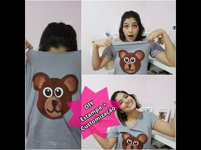DIY. Faça você mesmo - camisa Teddy Bear + customização