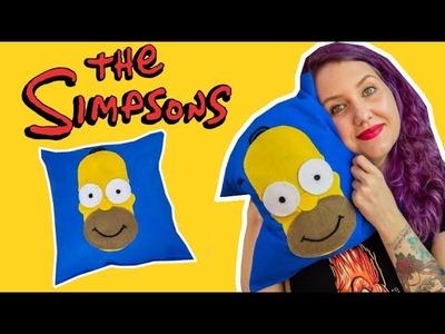 DIY Geek: Como Fazer Almofada Personalizada do Homer Simpson