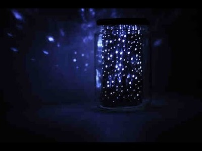 DIY: JARRA GALAXY:   GALAXY JAR | Pinterest inspired