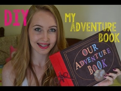DIY: Livro de Aventuras.My Adventure Book