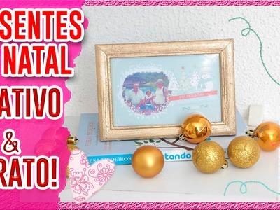 DIY: Presentes de Natal • CARTÃO e PORTA RETRATO+SORTEIO♥ Fala Dantas