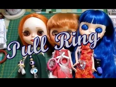 DIY  - Pull rings e brincos - Blythe, Icy e Jecci