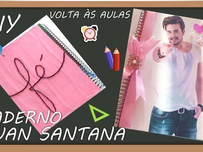 DIY Volta às aulas: Caderno Luan Santana | Cari Souza