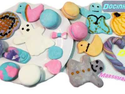 Docinhos Feito de Massa De Marshmallow! (DIY)