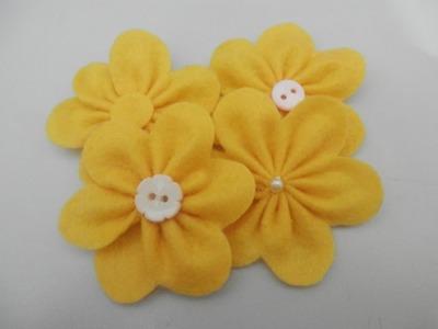 Flor de feltro 5