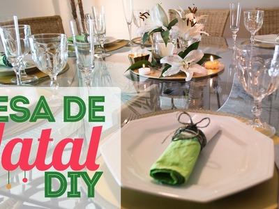 Ideias para a Mesa  de Natal | DIY