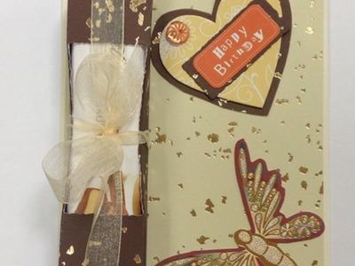 Monte Um Cartão de Felicitação de Chocolate - Faça Você Mesmo Artesanato - Guidecentral