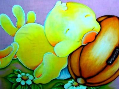 Pintando um Pintinho Amarelinho