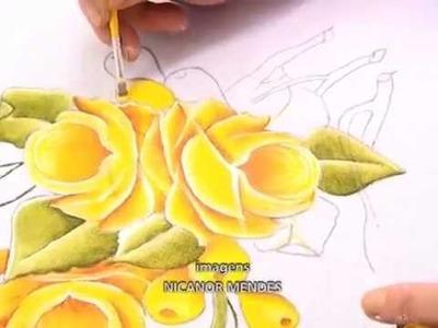 Pintura em tecidos - Artesanato em tecido