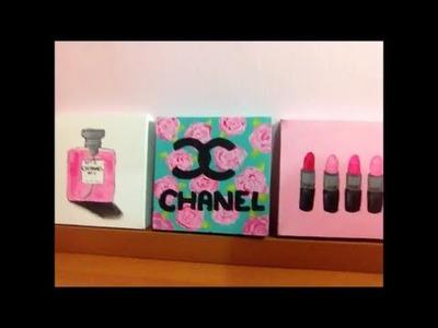 Presente Para o Dia das Mães (Decoração de quarto) DIY Room inspiration Decor Chanel, MAC