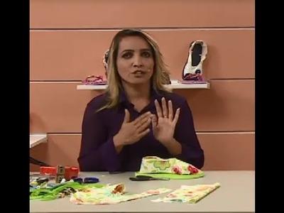Sapatilha com Andreia Bassan | Vitrine do Artesanato na TV