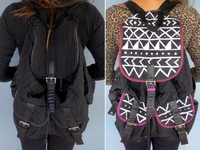 ~ Transforme a sua mochila! ~ DIY
