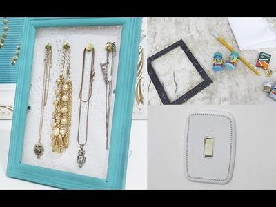 Tutorial: Porta colares e pulseiras + extra