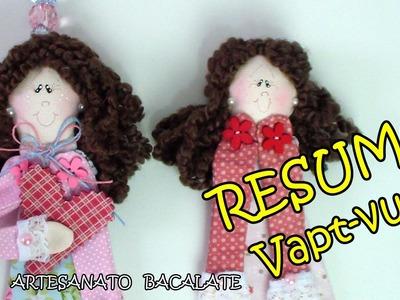 Vapt-vupt Boneca Marcador de Página Bacalate - RESUMO DIY Book Marker, muñeca de libro