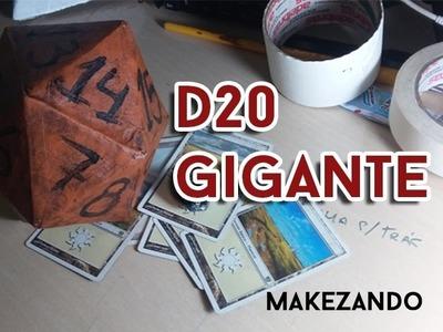 #1 DIY: D20 Gigante, Decoração Geek