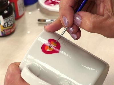 Canal do Artesanato - Pintura em Porcelana