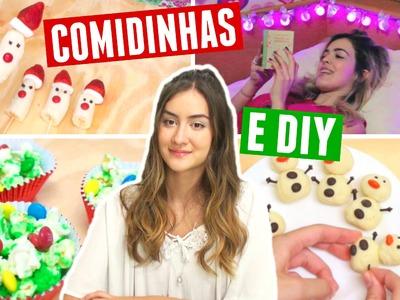 COMIDINHAS E DIY PRO NATAL! Marcela Lahoz e Bia Oliveira