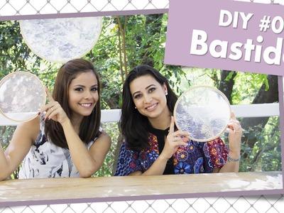 Como decorar um bastidor - DIY #01  | Casando com Amor