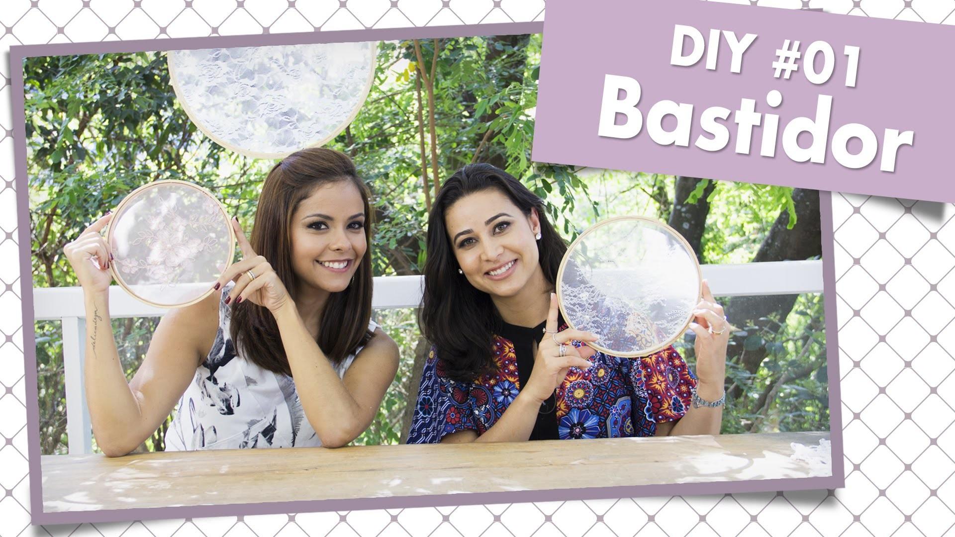 Como decorar um bastidor - DIY #01    Casando com Amor