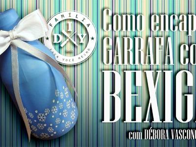COMO ENCAPAR GARRAFA COM BEXIGA #7 FAMÍLIA DIY - DECORAÇÃO DE FESTA INFANTIL