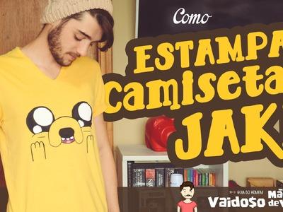 Como Estampar Camiseta | Jake Hora de Aventura | DIY
