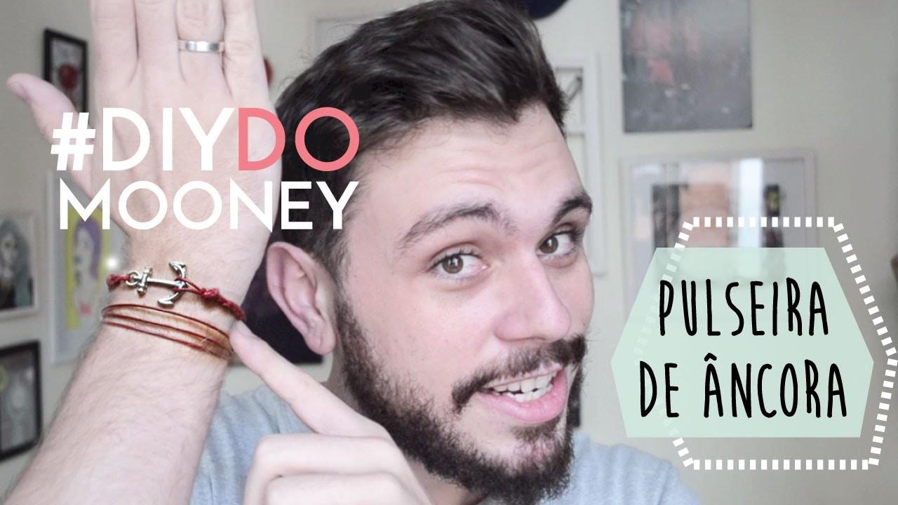 Como fazer uma pulseira navy de âncora | DIY | DANIEL MOONEY