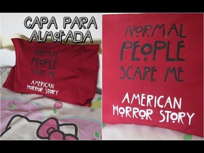 D.I.Y. Capa para Almofada - American Horror Story