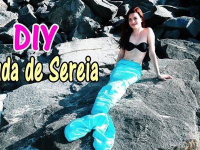 D.I.Y. Cauda de sereia. Mermaid tail - Faça você mesmo - Larissa Ramos