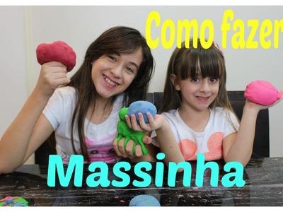 DIY#3 - Faça você mesmo Massinha Caseira com Carol Santina e Sophia