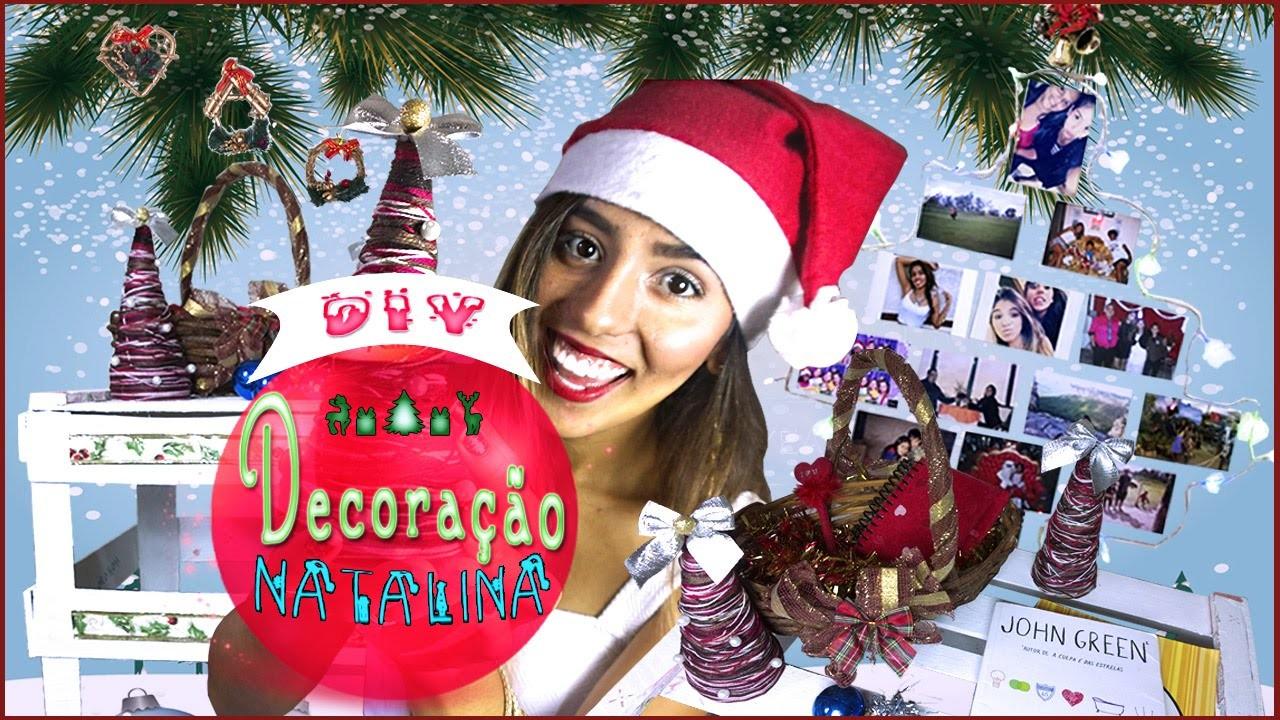 DIY - 6 Dicas para Decoração de Natal MUITO FÁCIL E BARATA | Easy Christmas Decor -LetíciaDIY